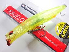 Megabass - KAGELOU 100F 100mm 12g Floating #09 GP RM YELLOW VINUS
