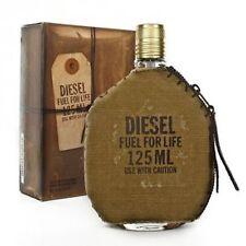 Diesel Fuel for Life 125 ml / 4.2 Oz Eau de Toilette Perfume  Men Genuine New