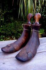 Antique Wooden Shoe Stretchers, beautiful  set, perfect for shop, home, pub