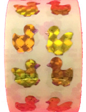 "400 Duckling Stickers in roll of 100 modules 2"" x 2"",each sticker 7/8"", RM0402"