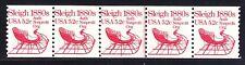 US 1900 MNH 1983 5.2¢ Sleigh PNC 5 Plate #1 Line