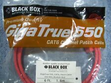 Blue Black Box CAT6 Value Line Patch Cable 5-Pack 4.5-m Stranded 15-ft.