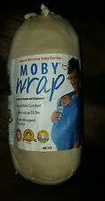 Authentic MOBY WRAP Infant Sling , Baby, Carrier,-Original Collection-NATURAL