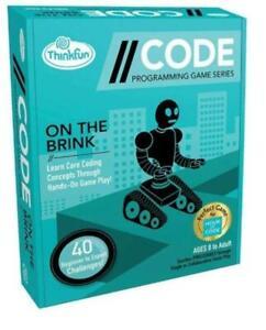 ThinkFun - //CODE: On The Brink Programming Board Game