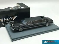 Lincoln Town Car Formal Limousine Stretch 1985 black NEO45335 1:43