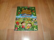 Animal Crossing Let's Go to the City Nintendo Wii guia de prima nueva precintada