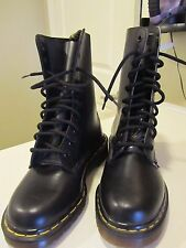 Dr. Martens VINTAGE 1490 10-eye Boot in Quilon Leather Youth Size 4US 3UK