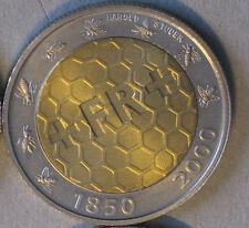 Schweiz 5 CHF  2000 150 Jahre Schweizer Franken s. Bild