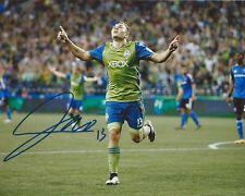 Jordan Morris Signed 8×10 Photo Seattle Sounders FC Autographed COA D