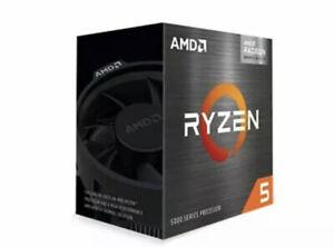 AMD Ryzen 5 5600G 6-Core 12-Thread Desktop Processor with Radeon Graphics🔥🔥✅