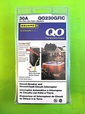 Square D Homeline Qo230gfic 30 Amp 2 Pole Gfci Circuit Breaker New