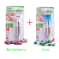 2XTooth Polisher Stain Remover Whitener +20Cups Polishing Paste Mint&waterbarry