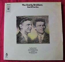 The Everly Brothers, end of an era, 2LP - 33 Tours