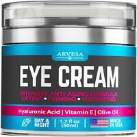 Retinol Face Cream Anti Ageing Wrinkles with Hyaluronic Acid Vitamin E Aloe USA