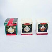 VTG Hallmark Ornaments Set of 3 Betsey's Country Christmas 1992 + 1993 + 1994