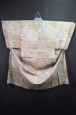 03a1600 Men Silk Vintage Japanese Kimono Juban