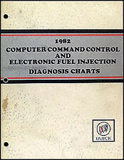1982 Buick Electronic Fuel Injection Diagnosis Manual Computer Command Control