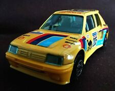 1:43 1989 Burago Peugeot 205 Turbo 16 #205 Michelin Shell