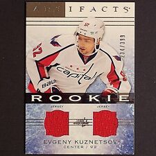 EVGENY KUZNETSOV RC 2014/15 Artifacts Rookie Jsy #121 Washington Capitals single