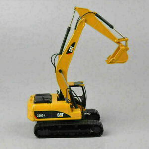 CAT 1/50th Yellow 320D L Diecast Hydraulic Excavator Diecast Model Vehicles Toy