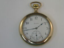 Vintage Elgin Pocket Watch 12 Size 1912 Grade 303 47mm