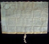 Bottesford Village Leicester. Charles II,1682 Dodesley Family Marriage Agreement