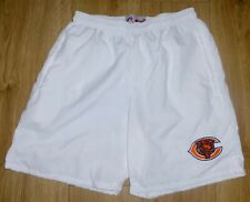"""Nfl Chicago Bears-Sports/Casual Shorts-White-Embroidered- 34""""Waist-New"""