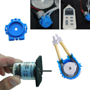 Dosing Pump DC Peristaltic Liquid Hose Pump Self-priming Flat Plate Type Great