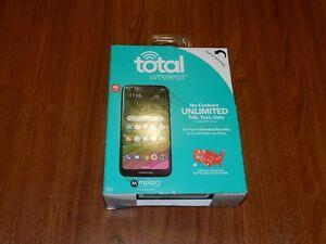 New - Total Wireless Moto G7 4G LTE Smartphone - OPK-TWXT1952DC - 616960307884