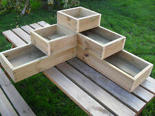 Tiered Flower Plant Planters Boxes Ebay