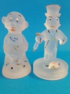 Walt Disney Productions Imperatore Oggettistica (Italy) Frosted Glass Figurines
