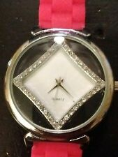 Vintage Monte Carlo ladies watch, running with new battery NR