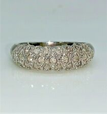 Diamond Domed Band Ring