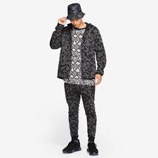 Nike Sportswear Tech Fleece Pack Para Hombre Cremallera Completa Chándal Camuflaje Negro Talla Grande