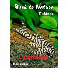 Back to Nature guide to L catfishes catfish fish pleco book by Ingo Seidel.