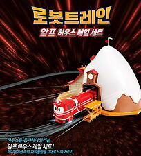 Robot Trains ALF HOUSE RAIL SET Train track Playset Toy / Korea TV Animation