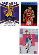 BEN SIMMONS Lot ▪  2016-17 Contenders Game Day RC  2017-18 Hoops & Status  76ers
