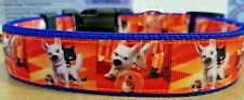 Disney Bolt Dog Collars (4 different designs)