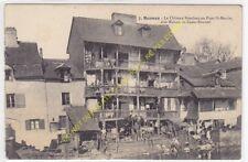 CPA 35000 RENNES Château branlant Maison Cadet Roussel au pont St Martin