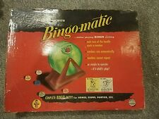 Vintage BingoMatic Bingo Game Transogram Company Bingomatic Dispenser 1950s