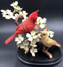 Boehm Limited Signed # Edition Cardinals Crimson Spring Bird Large Figurine