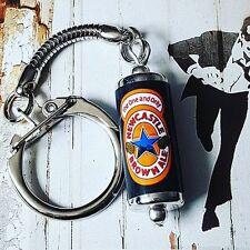 Cool NEWCASTLE BROWN ALE KEYRING novelty PUB beer GEORDIE can miniature KEYCHAIN