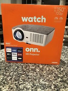ONN 720P HD Portable Projector includes Roku Streaming Stick  New