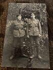 WWI RPPC Manchester Regiment Soldiers Portrait Photo Postcard