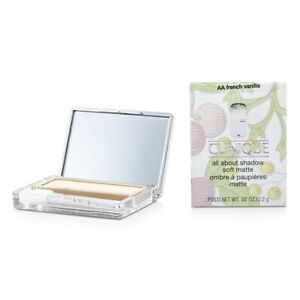 Clinique All About Shadow - # AA French Vanilla (Soft Matte) 2.2g Womens Make Up