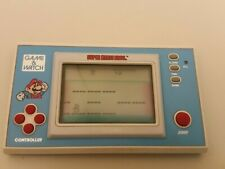 GAME & WATCH NINTENDO SUPER MARIO BROS YM-105 ORIGINAL LCD JAPAN 1988 VINTAGE