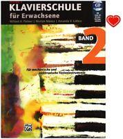 Alfred's Klavierschule für Erwachsene Band 2 (+CD und Herzklammer) 5731