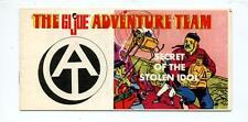 The GI Joe Adventure Team       Secret of the Stolen Idol      Toy Mini Comic Bo