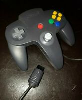 Nintendo 64 - N64 - Controller Charcoal Black/Grey AUTHENTIC OEM