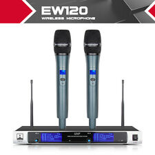 Rocket Metal EW120 Metal construction UHF Dual 2 Channel WIRELESS Microphone